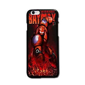 "Tomhousomick Custom Design Cute Big Hero Baymax Case Cover for iPhone 6 Plus 5.5 inch 5.5"" Say: Hello ,I'm Baymax.What's your pain level."