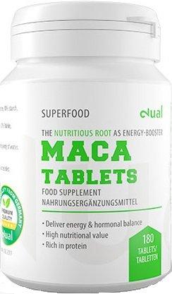 Dual SuperFoods Maca Ergänzungsmittel 100% Pflanzlich (300 Tabletten)