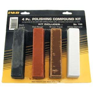 Enkay 150 Carded Polishing Compound Kit, 4 Piece by Enkay