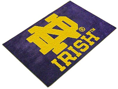 Notre Dame Starter - Fanmats NOTRE DAME FIGHTING IRISH STARTER RUG
