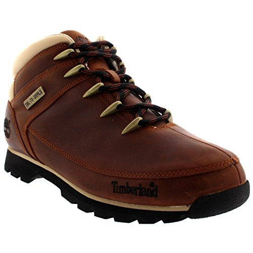 Timberland Mens Euro Sprint Hiker Snow Winter Hiking Lace Up Boots - Brown - 8.5/42