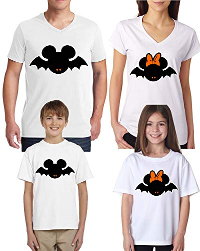 Scary Halloween Costumes White Women V-Neck T-Shirts Scary