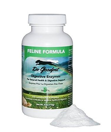 Amazon.com: Dr. goodpet Suplemento Feline enzima Formula 4 ...