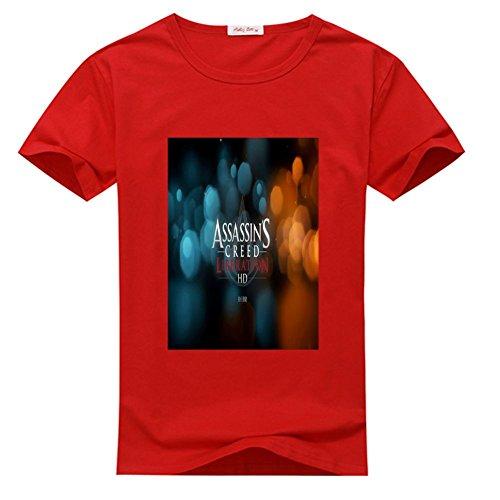 DIY Assassins Creed 100% Cotton T-shirt, Custom Men's Classic Crew Neck - Assassins Creed (XX-Large)