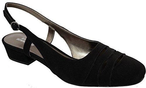 Ros Hommerson Tempt Women's Casual Shoe: Black/Microfiber 10 X-Wide (2E) Buckle