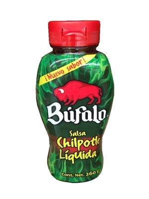 Bufalo Salsa Chipotle Liquida Picante Squeezable Bottle - 9.1 oz