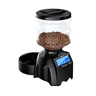 MOTA Perfect Dinner Pet Feeder V2 – Fully Programmable Automatic Pet Food Dispenser, Record Your Voice, Control Portions and Feed Times