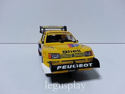 SuperSlot - Coche Slot Peugeot 205 T16 Pikes Peak (Hornby S3641): Amazon.es: Juguetes y juegos