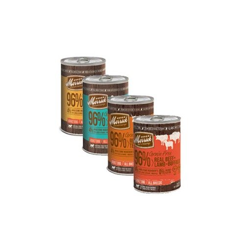 Merrick Grain Free 96% Meat Canned Dog Food Variety Pack