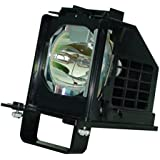 Roccer 915B441001 Replacement Lamp with Housing for Mitsubishi TV WD-60638 WD-60638CA WD-60738 WD-60C10