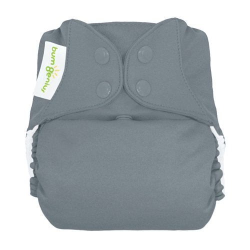 BumGenius Freetime All-In-One Cloth Diaper - Snap - Armadill
