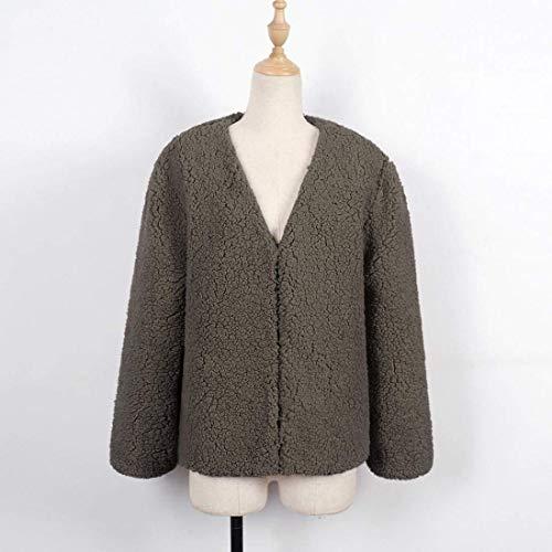 Art Mode Hiver Manches Manteau Femme Long Court Automne Outerwear Fourrure 8RqI74wgx