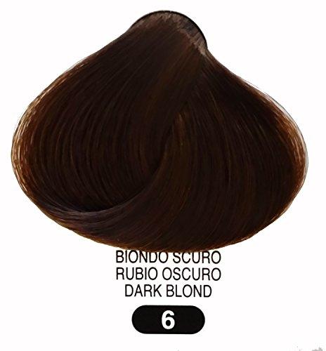 (TERME Professional Hair Colouring Cream 6 Nat. Dark Blond 3.38oz )