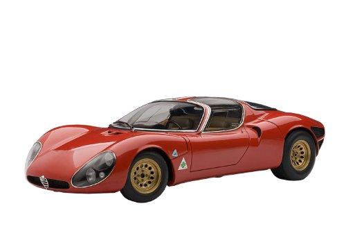 1/18 アルファロメオ ティーポ33/2 ストラダーレ プロトタイプ 1967 レッド 70191