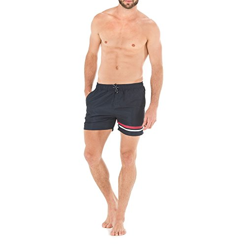 Borabora marine - Short de bain homme Terre de Marins MARINE 46