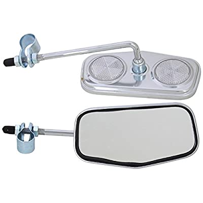 SUNLITE Pentagonal Mirror, Bolt On : Bike Mirrors : Sports & Outdoors [5Bkhe1904108]