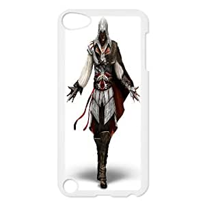 Custom Assassins Creed Hard Back Cover Case, Custom Brand New Hard Back Case for iPod Touch 5 Assassins Creed