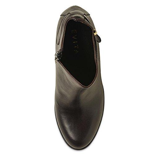 Evita Cuir Lisse Bordeaux Bottines Femme Shoes Tuana 1qwWR1ZH