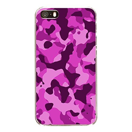 """Disagu Design Case Coque pour Apple iPhone 5 Housse etui coque pochette """"Camouflage Pink"""""""