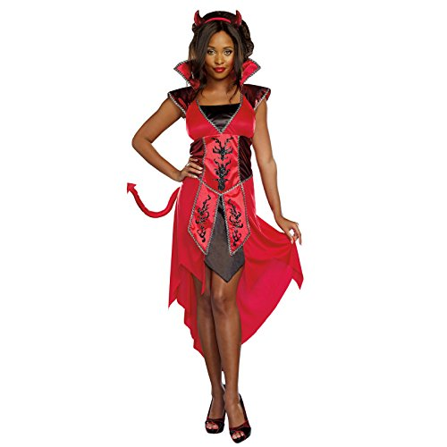 Totally Ghoul Devil's Temptress Costume, Women's -