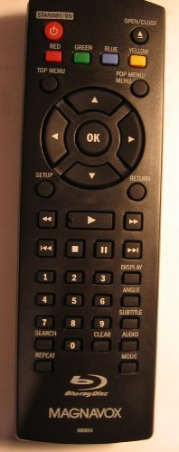 Magnavox Remote Control NB954UD for Magnavox Blue Ray Disc/D