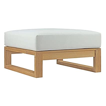 Amazon.com: modway eei-2708-nat-whi Patio al aire última ...