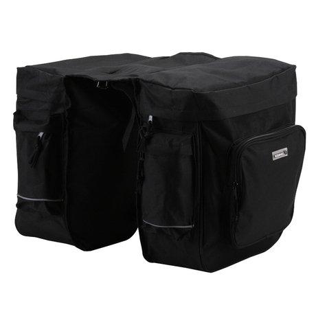 Joy-us Bikman 37L Mountain Bike Back Package Bilateral Pack Package Bicycle Saddle Pack Bag Seat Bag Package Travel Bag