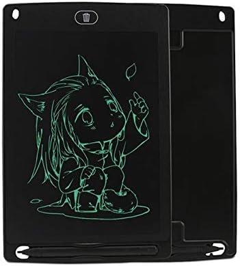 LKJASDHL 早期教育玩具グラフィティ製図板メッセージボード8.5インチLCD子供用製図板LCDライティングボード草案小さな黒板 (色 : ブラック)
