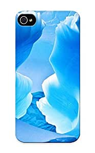 High Quality Graceyou Blue Ice Cave Skin Case Cover Specially Designed For Iphone - 6 4.7