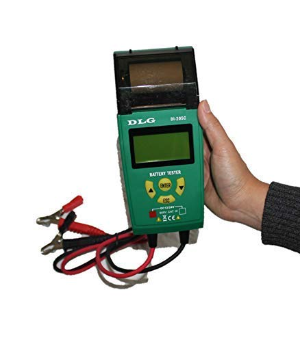 DLG DI-205C 12V 24V Automotive Truck Battery Tester Checking CCA/SOH/Internal Resistance/Starting System/Charging System/Maximum Load System Printer English Spanish Interface by DLG (Image #7)
