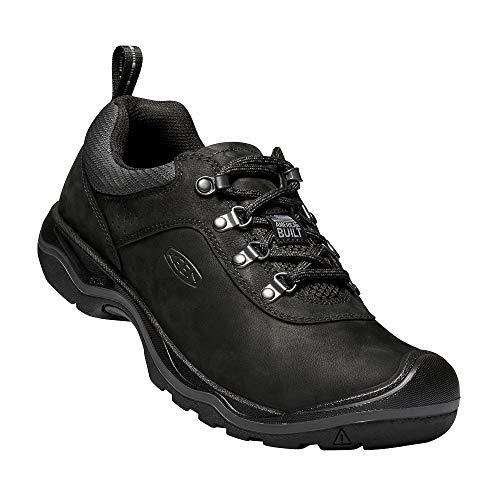 KEEN - Men's Rialto Lace Everyday Walking Shoe, Black, 12 M US