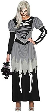 Atosa 30613 Disfraz esqueleto adulto XL, talla mujer: Amazon.es ...