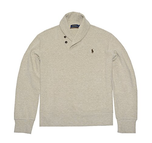 Polo Ralph Lauren Men's French Rib Shawl Sweater (X-Large, Expedition - Lauren Expedition Ralph