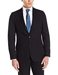 Haggar Mens Stretch Gab Slim Fit 2-Button Suit Separate Coat