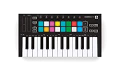 Made to move. Launchkey mini is Novation most compact and portable 25-mini-key MIDI keyboard controller. It gives you everything you need to start creating in Ableton Live – and it'll fit in your bag. Make tracks anywhere with launchkey Mini'...