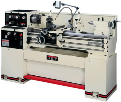 Jet 321810 GH-1340W-1 13-Inch Swing by 40-Inch between Centers 230-Volt 1 Phase Geared Head Engine Metalworking Lathe