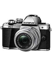 Olympus OM-D E-M10 Mark II, Mirrorless Digital Camera with 14-42mm, R Lens, Silver