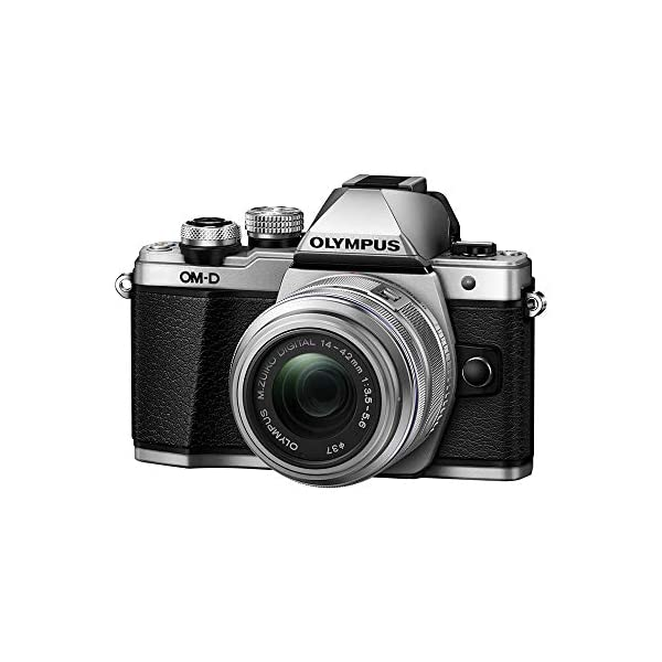 413p 9c85xL. SS600  - Olympus OM-D E-M10 Mark II Mirrorless Camera with 14-42mm II R Lens (Silver)