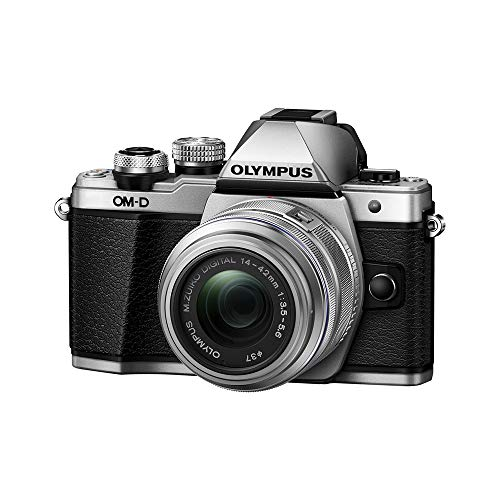 Olympus OM-D E-M10 Mark II Mirrorless Camera with 14-42mm II R Lens (Silver) (Om D E M5 Mark Ii Manual)