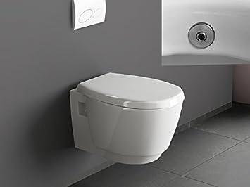 Aqua bagno design cartella Luca con bidè/doccia WC sospeso, con ...