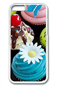 Tempting Cupcakes Slim Hard Cover for iPhone 6 Case (4.7 inch) PC Transparent Cases