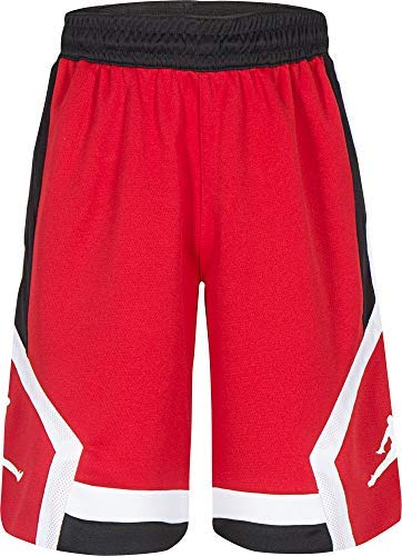 Jordan Boys' Dry Rise Shorts (M, Gym Red)