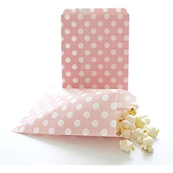 2 sizes! Wedding Gift Party Paper Bags Green Polka Dot Sweet Paper Bags