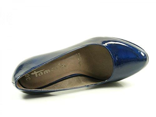 Tamaris 1-22426-29 zapatos de tacón alto para mujer Azul (Night Blue Pat)