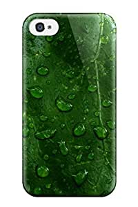 Protection Case For Iphone 4/4s / Case Cover For Iphone(raindrops Earth)