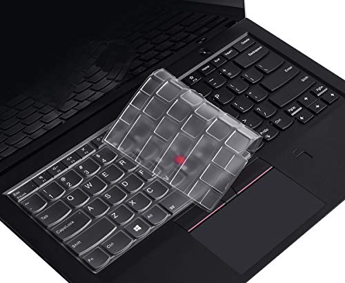 "Premium Keyboard Cover for Lenovo Thinkpad X1 Carbon 14"" 2018/2019 (5th and 6th Gen) / ThinkPad X1 Yoga 2019/2018/2017 (2 and 3rd 4 Gen)"