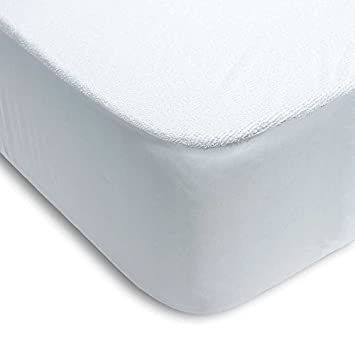 Protector colchón cama 150 x 200cm + 25cm IMPERMEABLE* ABSORBENTE* LAVABLE* ANTI-