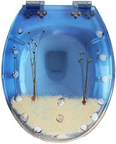 スローダウン尿素ホルムアルデヒド樹脂超耐性上部固定U/V/O形状適合トイレ蓋付き便座