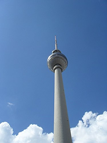 Home Comforts LAMINATED POSTER Alex Blue Sky Tv Tower Berlin Places Of Interest Poster 24x16 Adhesive - Four Alex Blue