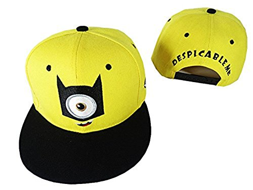 0e5bcf343db LiveOut Minion Teen Age Hip-Hop Baseball Cap with Adjustable ...